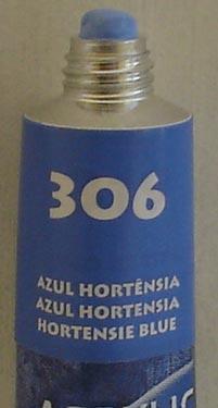 Tinta Acrílica Acrylic Colors Acrilex Azul Hortência #306 – 20ml