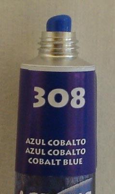 Tinta Acrílica Acrylic Colors Acrilex Azul Cobalto #308 – 20ml