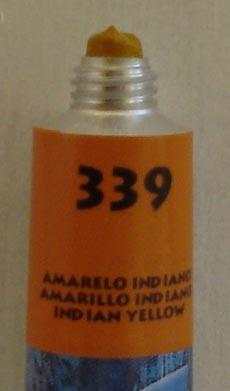 Tinta Acrílica Acrylic Colors Acrilex Amarelo Indiano #339 – 20ml