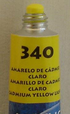 Tinta Acrílica Acrylic Colors Acrilex Amarelo Cadmio Claro #340 – 20ml