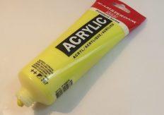 Tinta Acrílica Amsterdam Azo Yellow Lemon #267 – 250ml