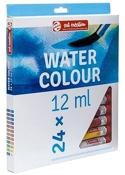 Conjunto de Aquarela Talens Art Creation c/24 cores