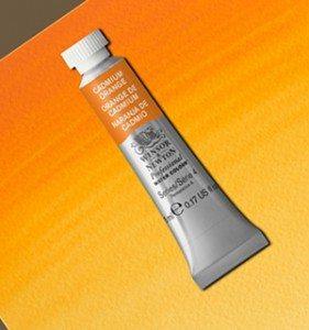 Tinta Aquarela Artists Cadmium Orange #089 S4-5ml