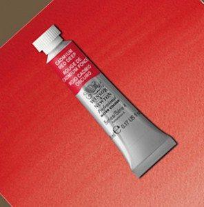 Tinta Aquarela Artists Cadmium Red Deep #097 S4-5ml