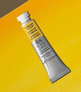 Tinta Aquarela Artists Cadmium Yellow #108 S4-5ml