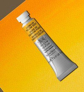 Tinta Aquarela Artists Cadmium Yellow Deep #111 S4-5ml