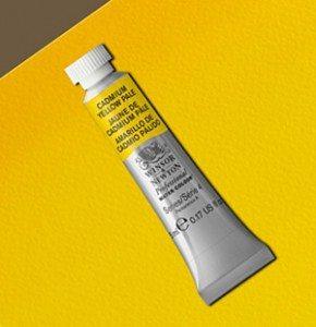 Tinta Aquarela Artists Cadmium Yellow Pale #118 S4-5ml