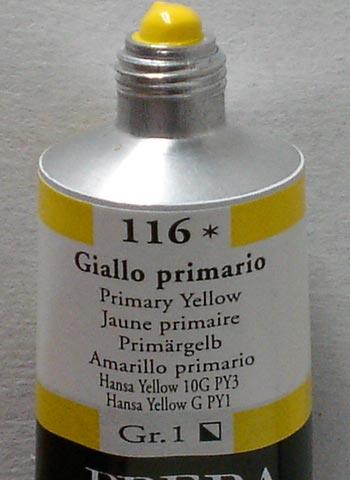 Tinta Acrílica Brera Amarillo Primário #116 – 60ml S1