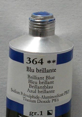 Tinta Acrílica Brera Azul Brilhante #364 – 60ml S1