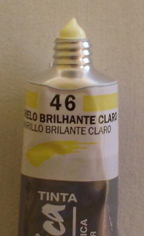 Tinta Acrílica Corfix Amarelo Brilhante Claro #046 – 37ml