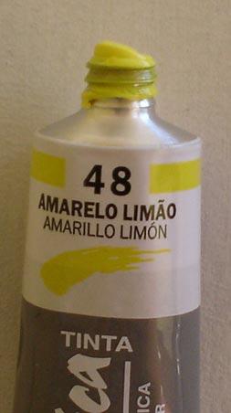Tinta Acrílica Corfix Amarelo Limão #048 – 37ml