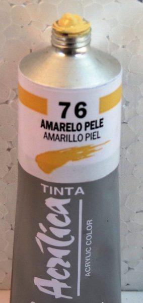 Tinta Acrílica Corfix Amarelo Pele #076 – 37ml