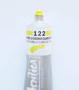 Tinta Acrílica Corfix Amarelo Cadmio Claro #122 – 37ml