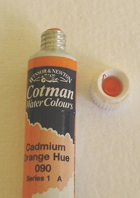 Tinta Aquarela Cotman Cádmium Orange Hue #090 – 8ml
