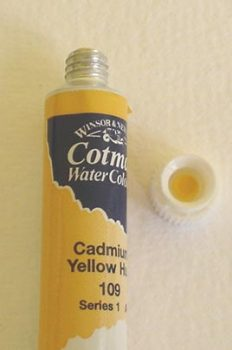 Tinta Aquarela Cotman Cadmium Yellow #109 – 8ml