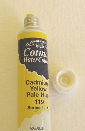 Tinta Aquarela Cotman Cádmium Yellow Pale #119 – 8ml