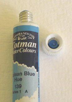 Tinta Aquarela Cotman Cerulean Blue #139 – 8ml