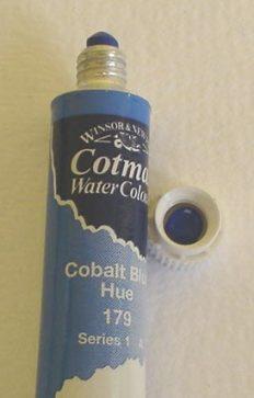 Tinta Aquarela Cotman Cobalt Blue Hue #179 – 8ml