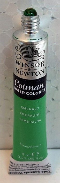 Tinta Aquarela Cotman Emerald #235 – 8ml