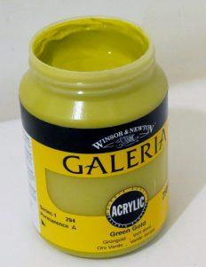 Tinta Acrílica Galeria Green Gold 250ML #294-250ml