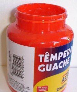 Tempera Guache Acrilex Vermelho Fogo #507 – 250ml