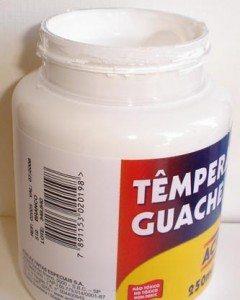 Tempera Guache Acrilex Branco #519 – 250ml