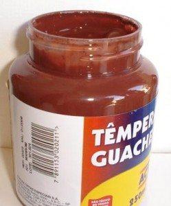 Tempera Guache Acrilex Marrom #531 – 250ml