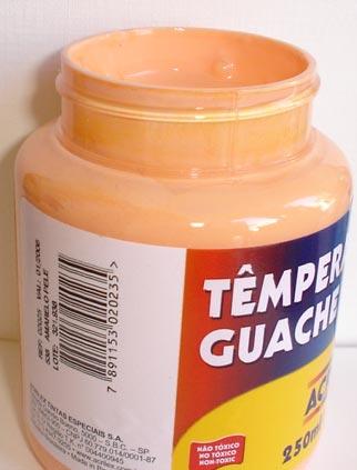 Tempera Guache Acrilex Amarelo Pele #538 – 250ml