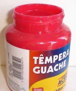 Tempera Guache Acrilex Magenta #549 – 250ml
