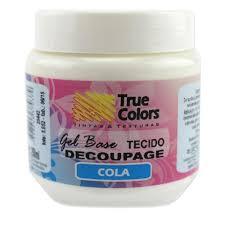 Gel Acrílico Cola Decoupage True Colors – 250ml #440