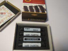 Carvão Preto Duro Gioconda c/4 #K86940004