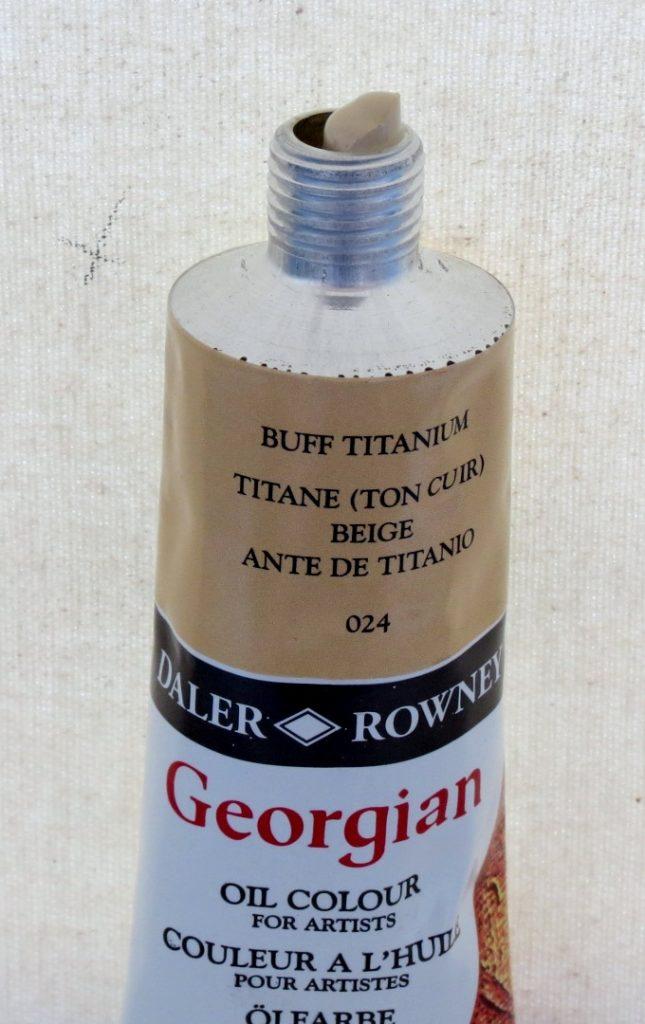Tinta Óleo Georgian Buff Titanium #024 -75ml