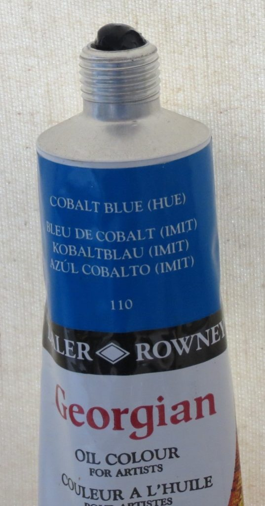 Tinta Óleo Georgian Cobalt Blue #110 -75ml