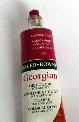 Tinta Óleo Georgian Carmine #508 -75ml