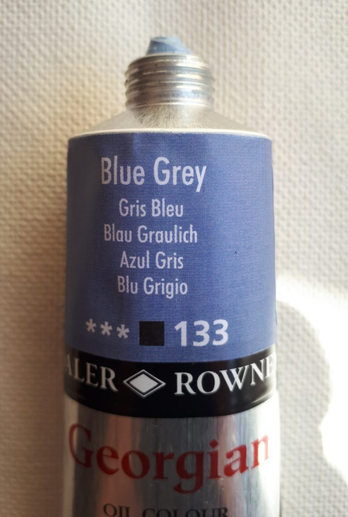 Tinta Óleo Georgian Blue Grey #133 -75ml