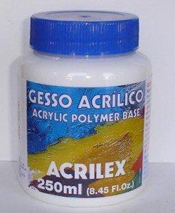 Gesso Acrílico Acrilex – 250ml