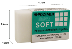 Borracha Hi-Polymer Pentel #ZES-08