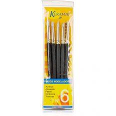 Conjunto de Pincéis Modeladores Keramik c/5 #502K