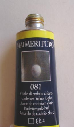 Tinta Óleo Maimeri Puro Cadmium Yellow Light S4 #081 – 40ml