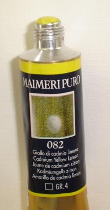 Tinta Óleo Maimeri Puro Cadmium Yellow Lemon S4 #082 – 40ml