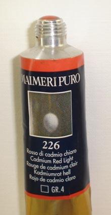 Tinta Óleo Maimeri Puro Cadmium  Red Light S4 #226 – 40ml