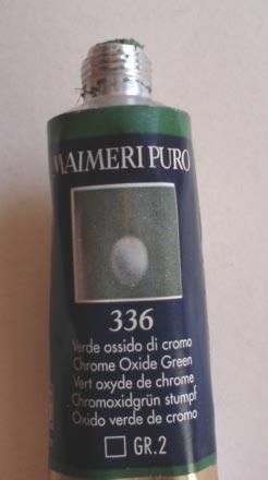 Tinta Óleo Maimeri Puro Chrome Oxide Green S2 #336 – 40ml