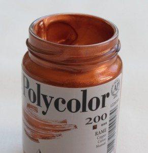 Tinta Acrílica Polycolor Cobre #200-140ml