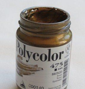 Tinta Acrílica Polycolor Bronze #475-140ml