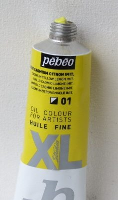 Tinta Óleo Pebeo Cádmium Yellow Lemon Hue #01-37ml