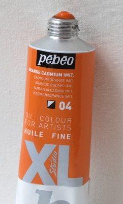 Tinta Óleo Pebeo Cádmium Orange Hue#04-37ml