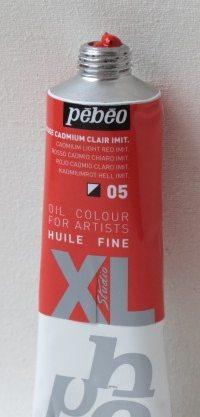 Tinta Óleo Pebeo Cadmium Red Light #05-37ml