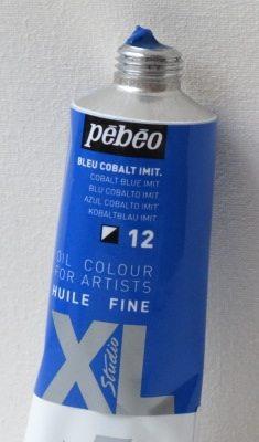 Tinta Óleo Pebeo Cobalt Blue #12-37ml
