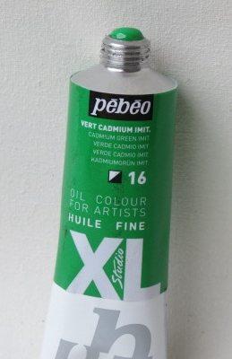 Tinta Óleo Pebeo Cadmium Green Hue  #16-37ml