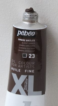 Tinta Óleo Pebeo Burnt Umber #23 – 37ml